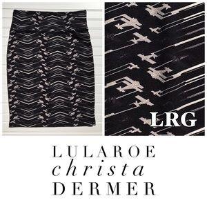Large NWT Lularoe Cassie Skirt
